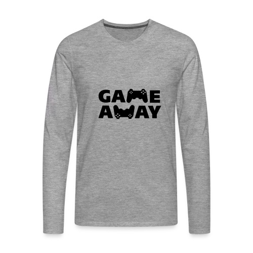 game away - Mannen Premium shirt met lange mouwen