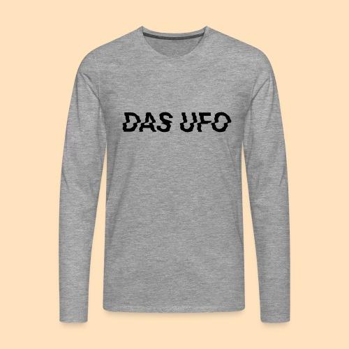 DAS UFO // Typography - Männer Premium Langarmshirt