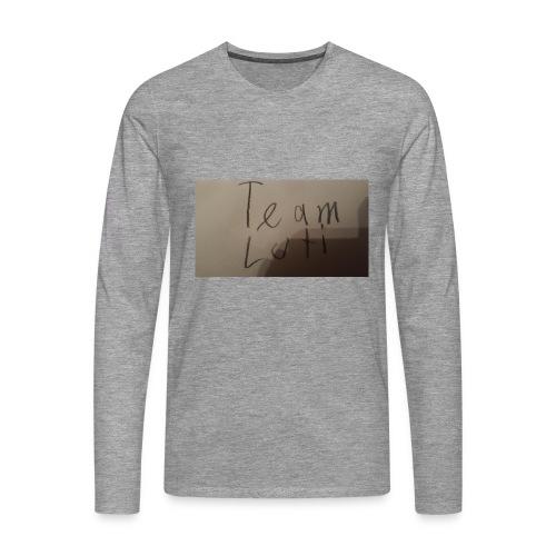 Team Luti - Männer Premium Langarmshirt