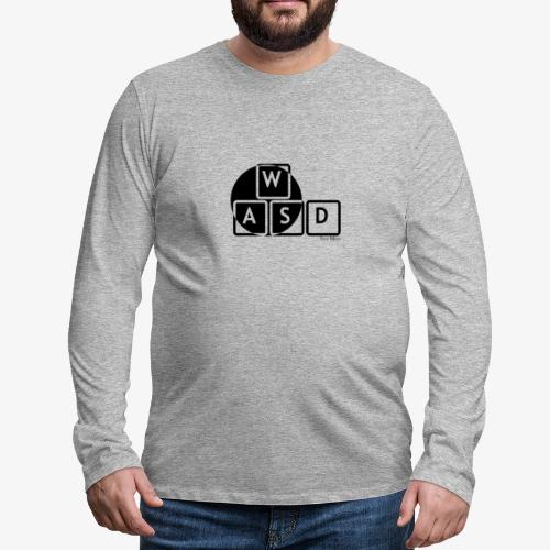 WASD Gaming is Life - Men's Premium Longsleeve Shirt