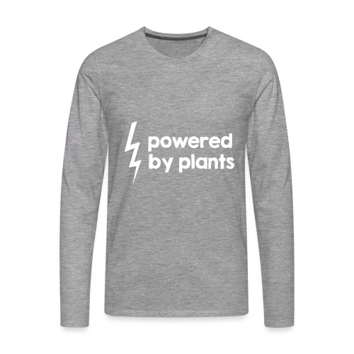 Powered by plants #2 - Männer Premium Langarmshirt