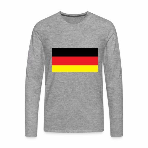 Deutschland Weltmeisterschaft Fußball - Männer Premium Langarmshirt