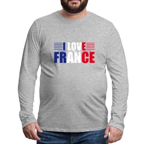 love france - T-shirt manches longues Premium Homme