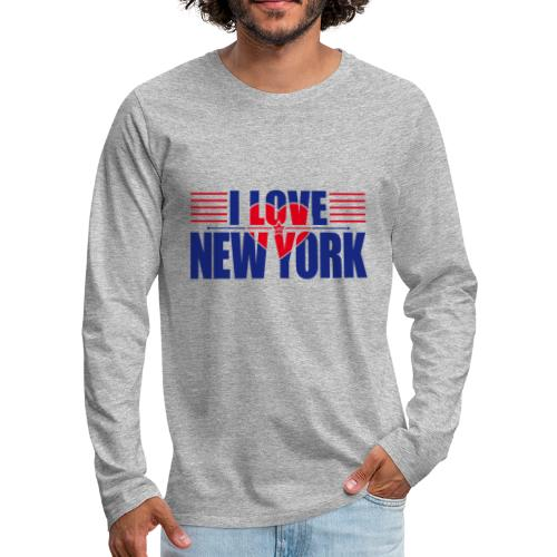 love new york - T-shirt manches longues Premium Homme