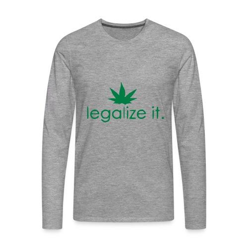 LEGALIZE IT! - Men's Premium Longsleeve Shirt