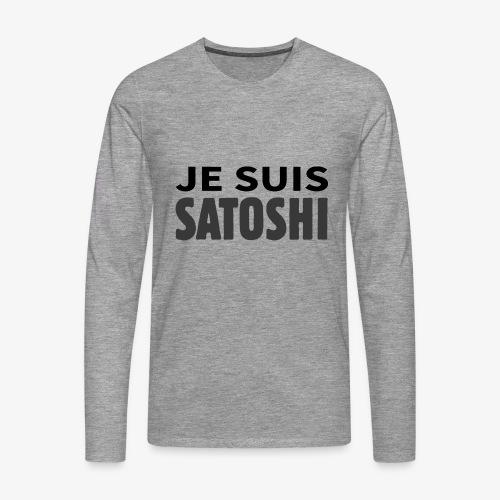 HODL-jesuis-b - Men's Premium Longsleeve Shirt