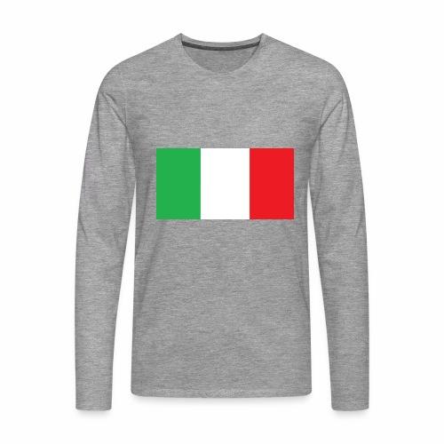 Italien Fußball - Männer Premium Langarmshirt