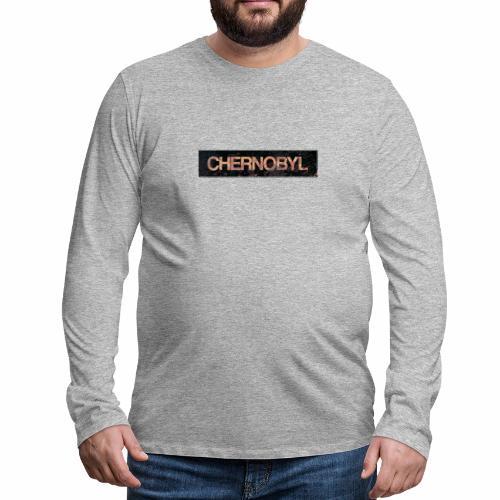 Rusty Chernobyl sign - Men's Premium Longsleeve Shirt