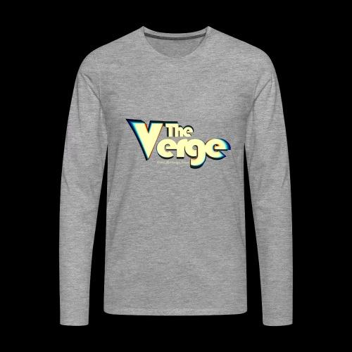 The Verge Vin - T-shirt manches longues Premium Homme