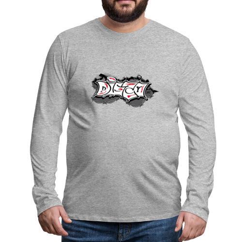 disco - T-shirt manches longues Premium Homme