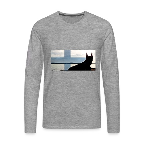 HUPPARITAUSTA2016 copy - Miesten premium pitkähihainen t-paita