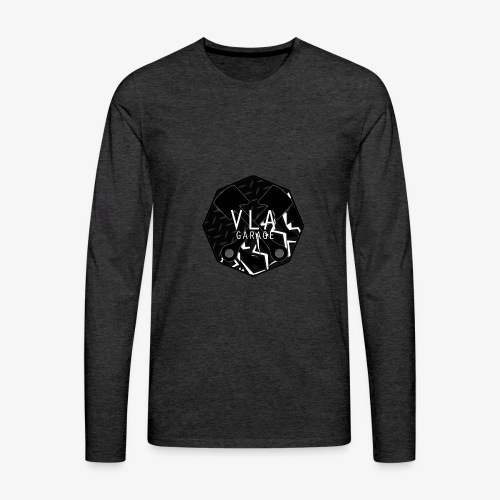 VLA GARAGE - Miesten premium pitkähihainen t-paita