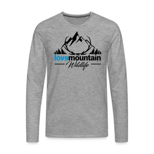 Mountain - Maglietta Premium a manica lunga da uomo