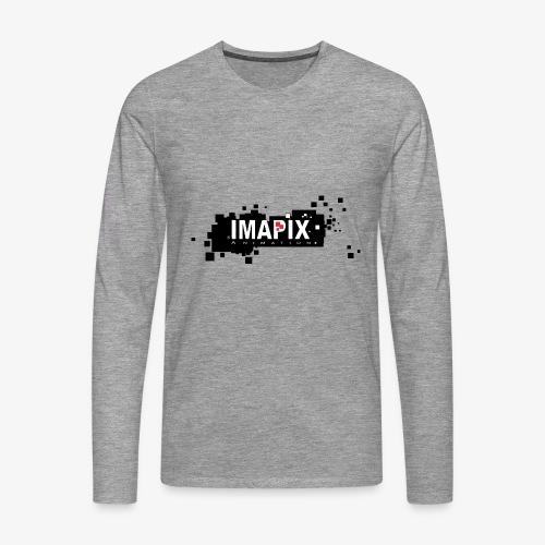 IMAPIX ANIMATION Rectro02 - T-shirt manches longues Premium Homme