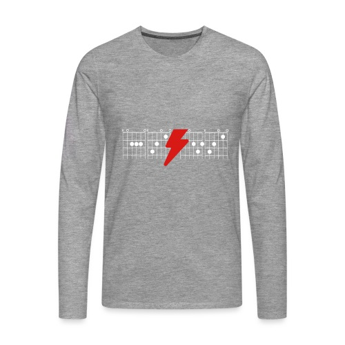 Rock Guitar Shirt - Men's Premium Longsleeve Shirt