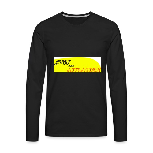 lust ans attraction - Men's Premium Longsleeve Shirt