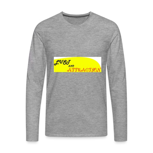 lust ans attraction - Men's Premium Longsleeve Shirt