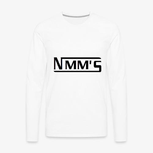 logo black - Camiseta de manga larga premium hombre