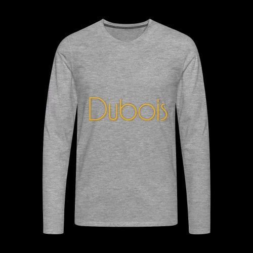 Dubois - Mannen Premium shirt met lange mouwen