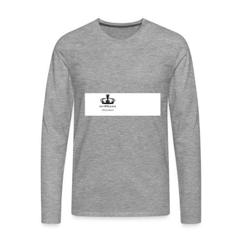 william - Men's Premium Longsleeve Shirt