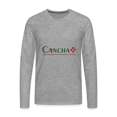 Cancha - T-shirt manches longues Premium Homme