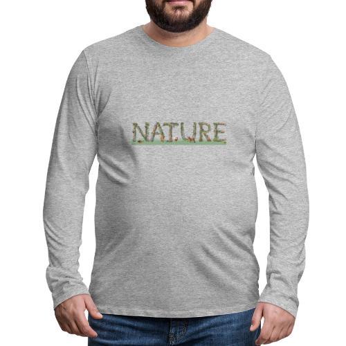 Natur - Männer Premium Langarmshirt