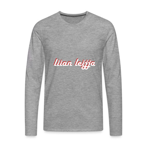 liian leijja - Miesten premium pitkähihainen t-paita
