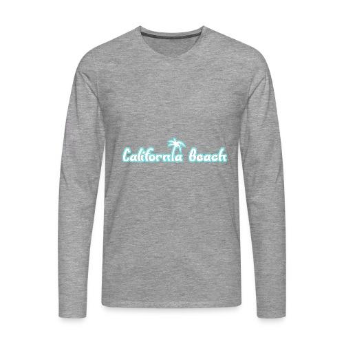 California Beach - Långärmad premium-T-shirt herr