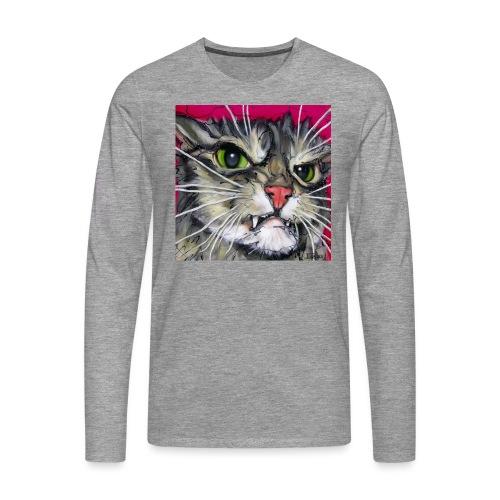 Bit Suspicious - Mannen Premium shirt met lange mouwen