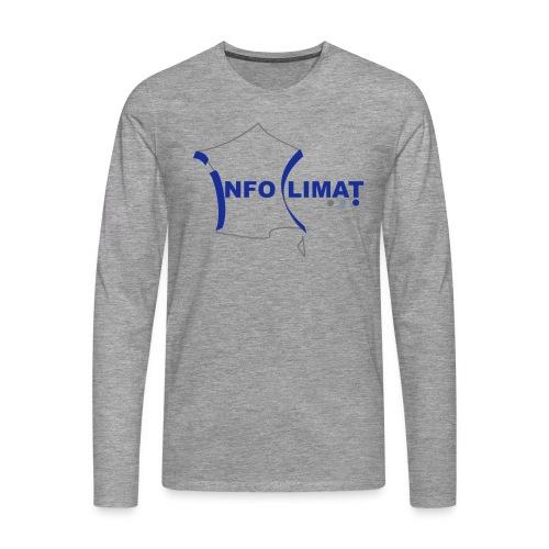 logo simplifié - T-shirt manches longues Premium Homme