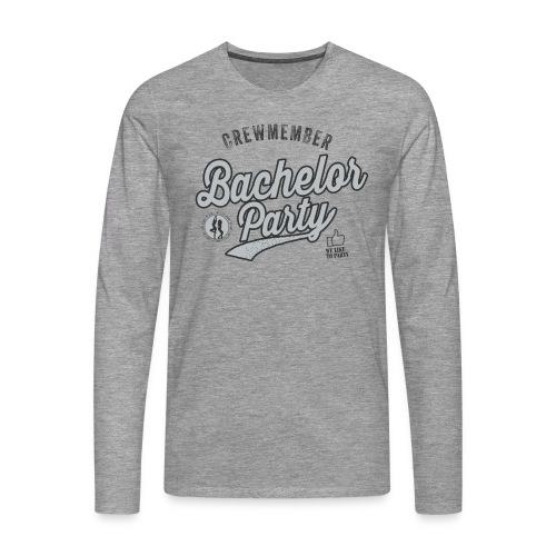 Vrijgezellenfeest Crew grijs - Mannen Premium shirt met lange mouwen