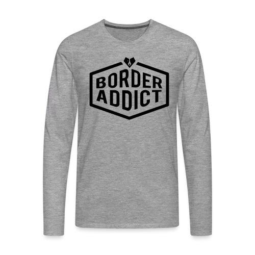 Border Addict - T-shirt manches longues Premium Homme