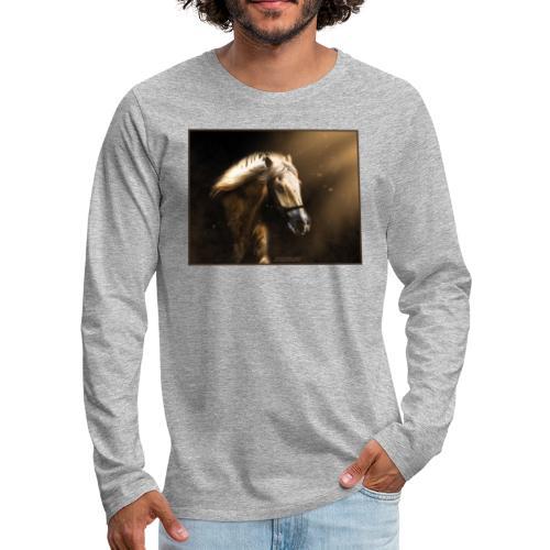The Restless Stallion - Mannen Premium shirt met lange mouwen