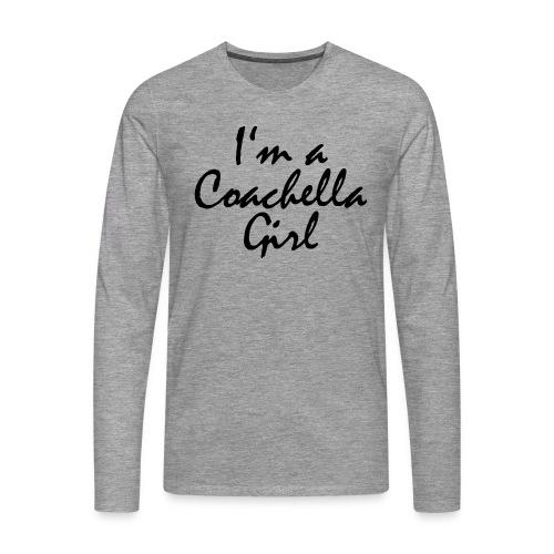 Coachella Girl - Männer Premium Langarmshirt