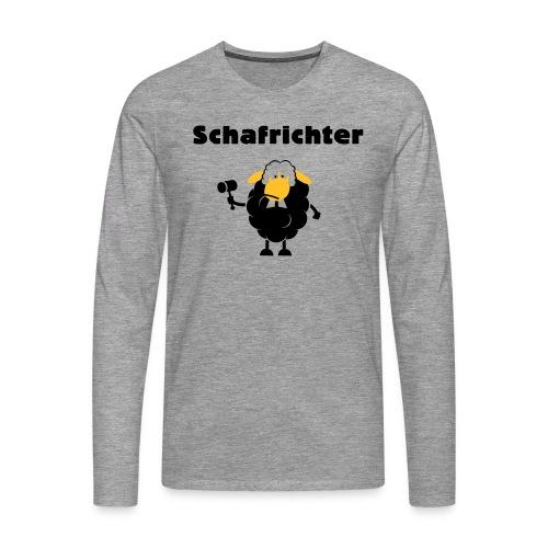 Schafrichter (Richter) - Männer Premium Langarmshirt