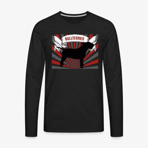 Bullterrier - Männer Premium Langarmshirt