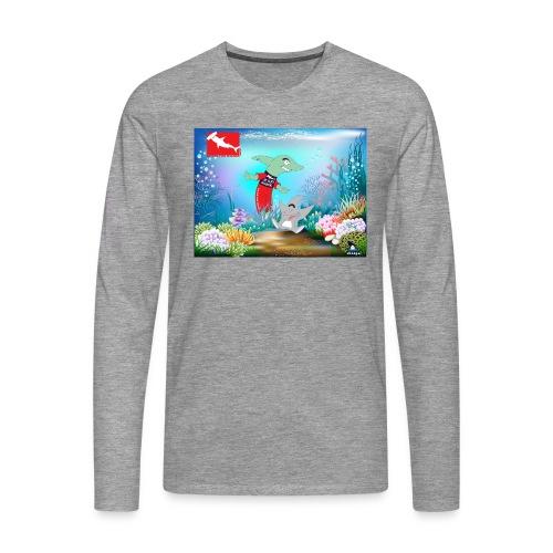jesuis sharkie jpg - Camiseta de manga larga premium hombre