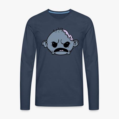 Zombob - Herre premium T-shirt med lange ærmer