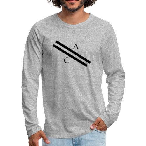 A\\C - T-shirt manches longues Premium Homme