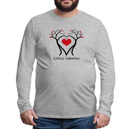 Saint Valentin des Ents - T-shirt manches longues Premium Homme