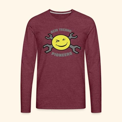 ACID TECHNO PIONEERS - SILVER EDITION - Men's Premium Longsleeve Shirt