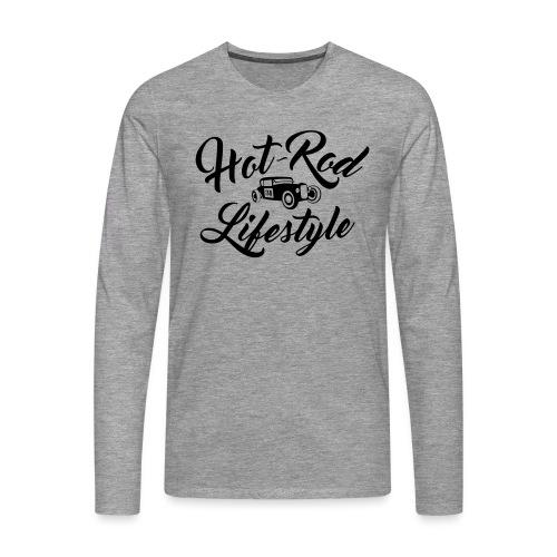 Hot-Rod lifestyle (front&back) - T-shirt manches longues Premium Homme