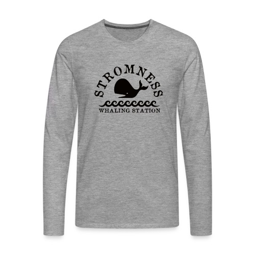 Sromness Whaling Station - Men's Premium Longsleeve Shirt