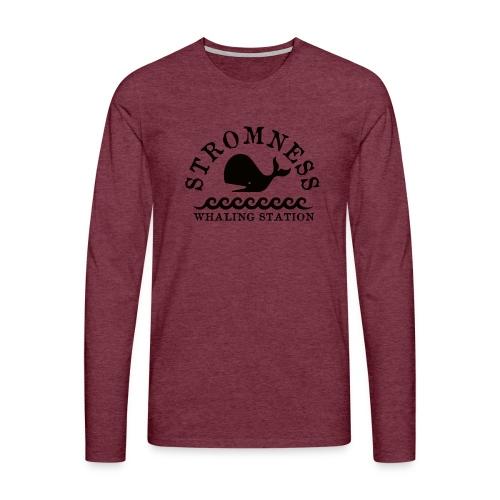 Sromness Whaling Station - Men's Premium Longsleeve Shirt