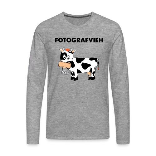 Fotografvieh - Männer Premium Langarmshirt