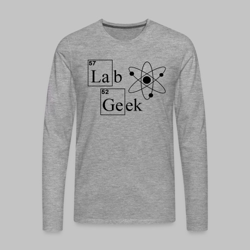 Lab Geek Atom - Men's Premium Longsleeve Shirt