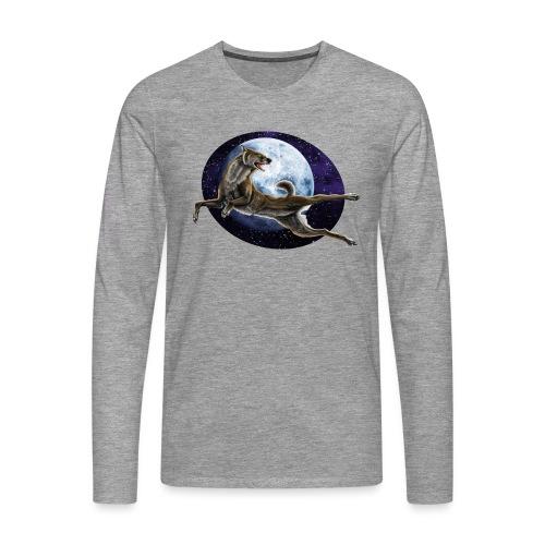 Galaxy Wolf - Männer Premium Langarmshirt