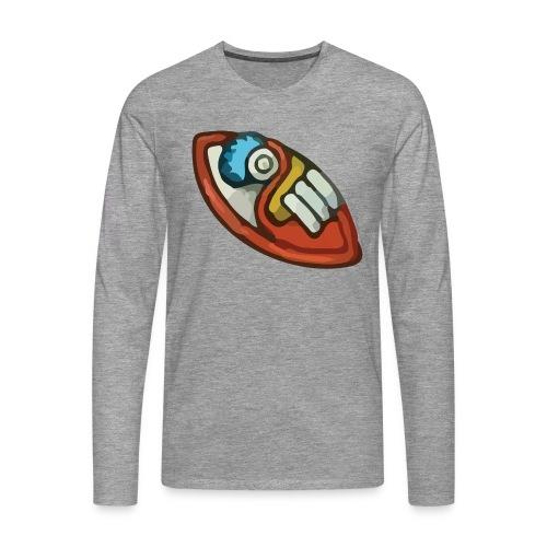 Aztec Flint Knife - Men's Premium Longsleeve Shirt
