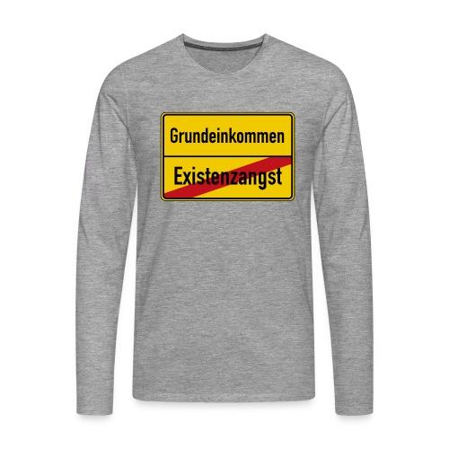 Grundeinkommen BGE - Männer Premium Langarmshirt
