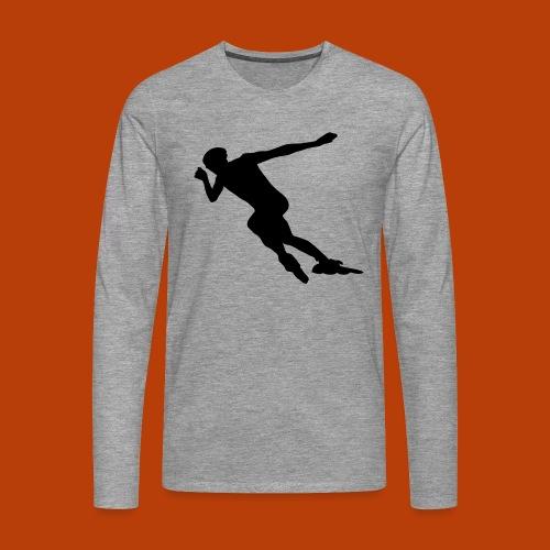 Speedskater - Männer Premium Langarmshirt